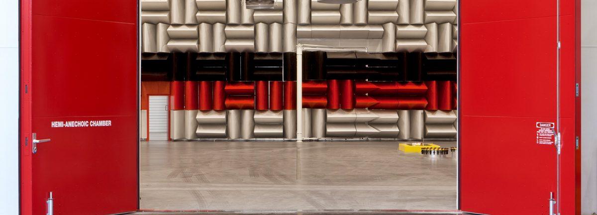 Large Steel Acoustic Doors
