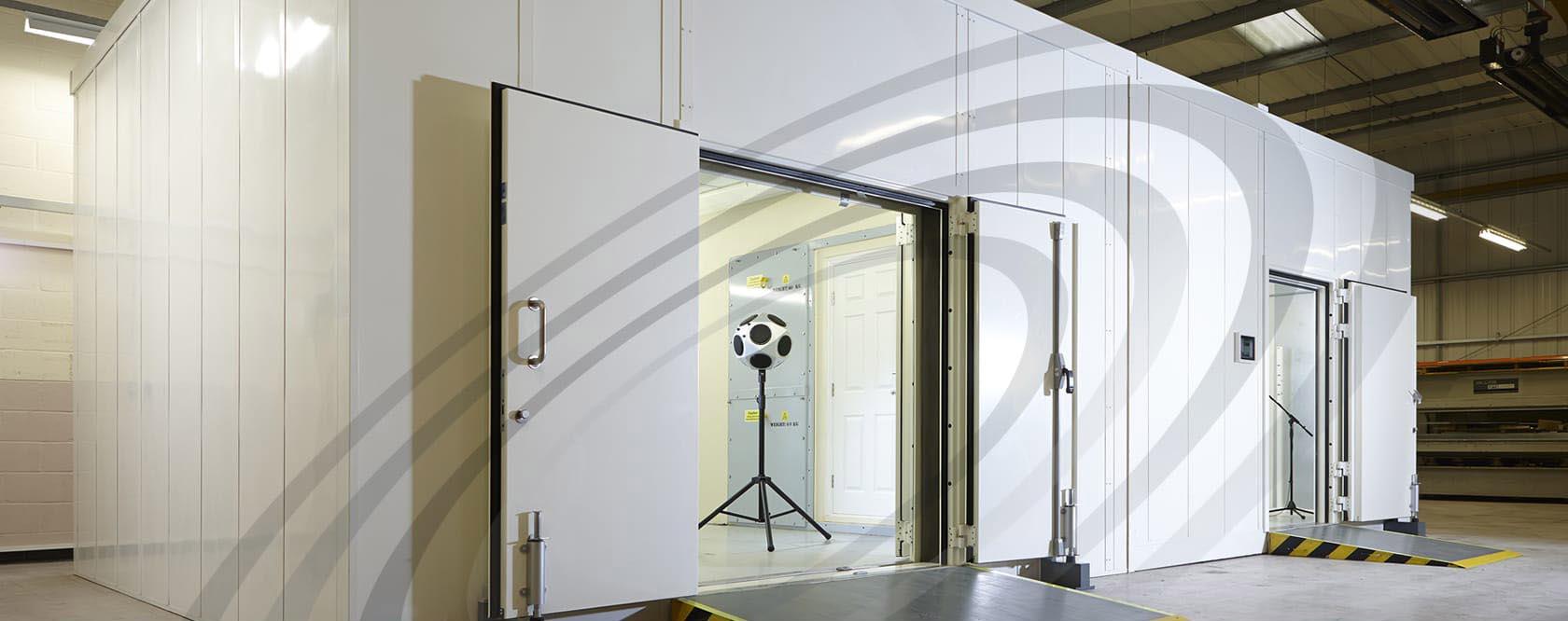 Noise-Lock D-59 Acoustic Doorsets, Lorient, UK