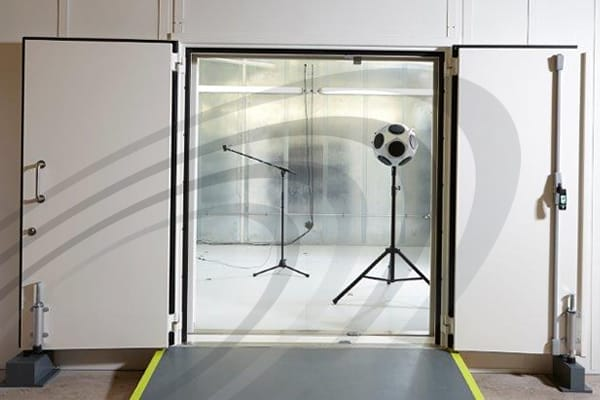 Noise-Lock D-59 Acoustic Doorsets - Lorient, UK